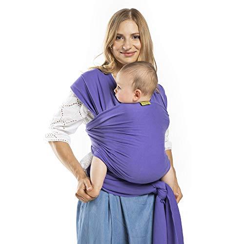 Boba Wrap - Fular portabebés, color morado