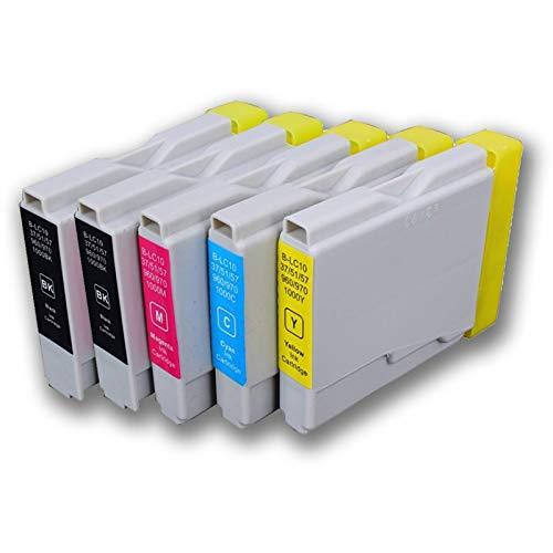 GG Pack 5 inktpatronen voor Epson T0715 + patronen T07
