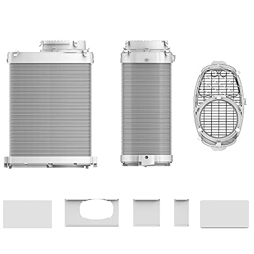 Midea Accesorio para aire acondicionado adaptador de ventana y tubo de salida de aire en manguera para Real Cool.