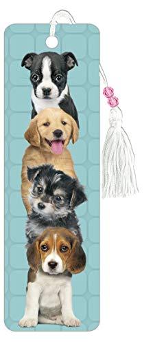 Trends International Tiki Puppy Bookmarks, Multi