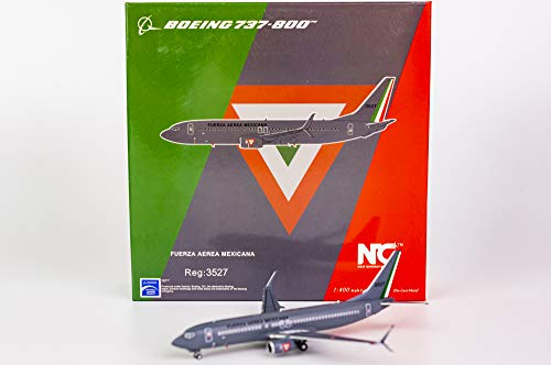 NG Model NGM58013 1:400 Mexican Air Force Boeing 737-800(S) Reg #3527 (pre-Painted/pre-Built)