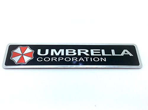 Umbrella Corporation Resident Evil Metall Auto Aufkleber Abzeichen Decal