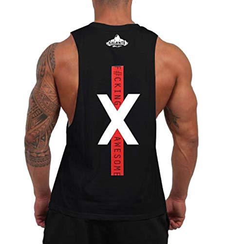 (ビベター)Bebetter タンクトップ メンズ トレーニングウェア ノースリーブ 筋トレ ジムウェア フィットネス スポーツウェア ボディビル L