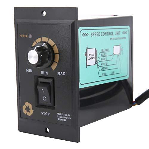 AC 220V 50 / 60Hz Monofásico Regulador de velocidad del motor eléctrico...