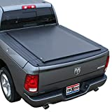 TruXedo Lo Pro Soft Roll Up Truck Bed Tonneau Cover   547901   fits 2012-18, 19/20 Classic Ram 1500/2500/3500 w/RamBox 6' 4' Bed (76.3')