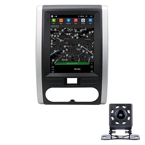 LWYJ Android 10.0 Coche Radio Estéreo para Nissan X-Trail 2008-2013 Pantalla Táctil De 10 Pulgadas GPS Navegación WiFi Bluetooth USB Soporte Am FM SWC con Camara Trasera,2+32G