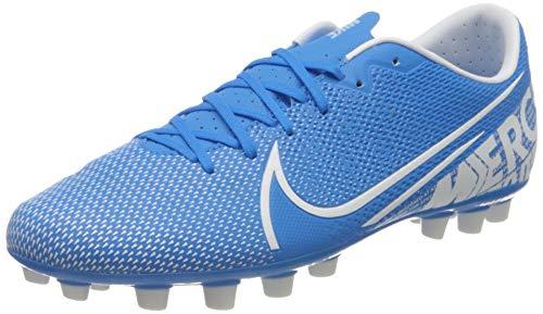 Nike Vapor 13 Academy AG, Botas de fútbol Unisex Adulto, Multicolor (Blue Hero/White/Obsidian 414), 42 EU