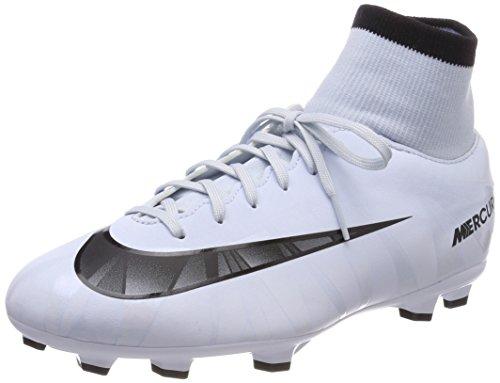 Nike Unisex-Kinder JR Mercurial Victory VI CR7 DF FG Fußballschuhe, Blau Blauton Schwarz Weiß Blauton 401, 35 EU