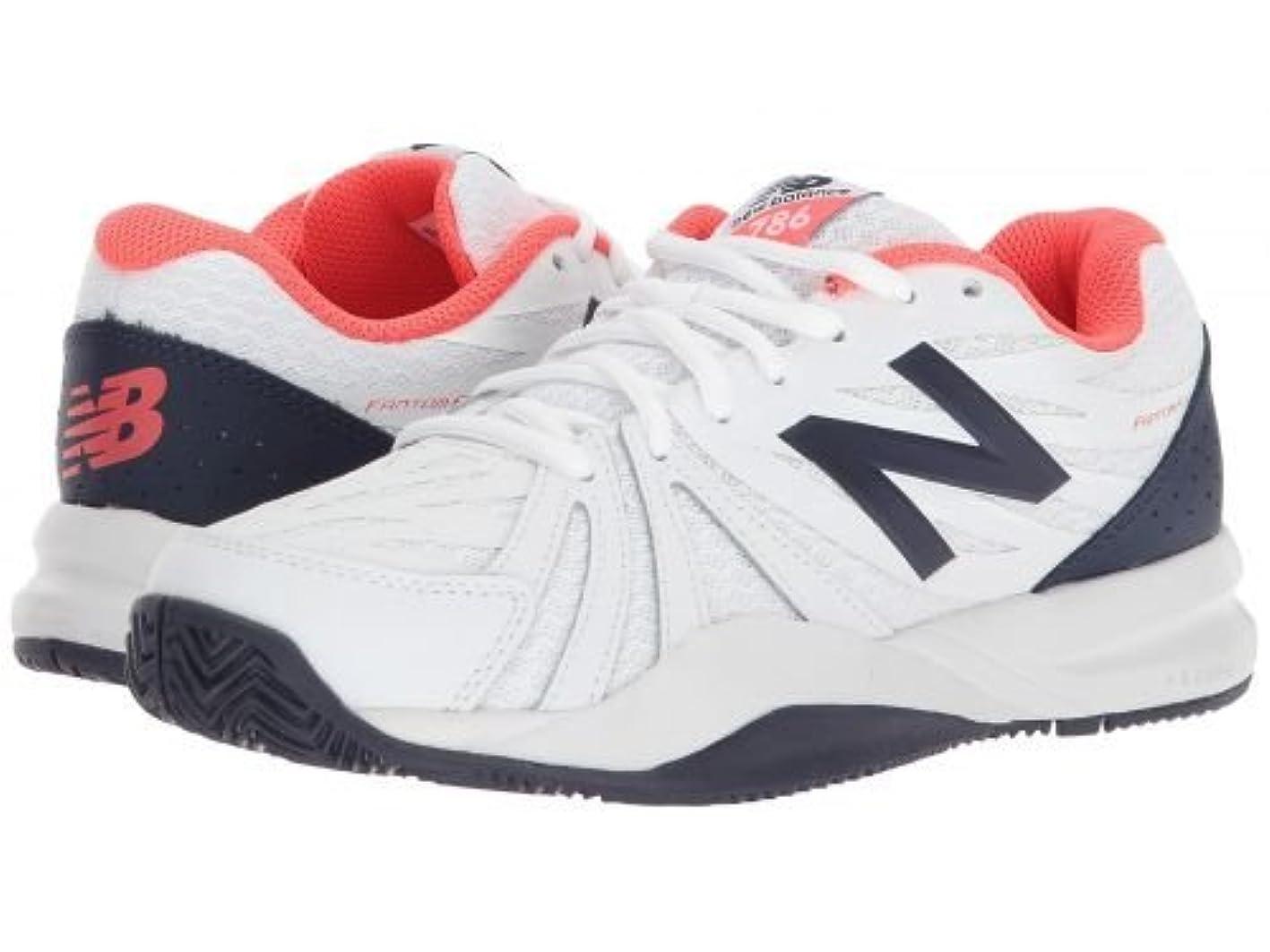 ポルトガル語単調な生き返らせるNew Balance(ニューバランス) レディース 女性用 シューズ 靴 スニーカー 運動靴 786v2 - Vivid Coral/White 6 D - Wide [並行輸入品]
