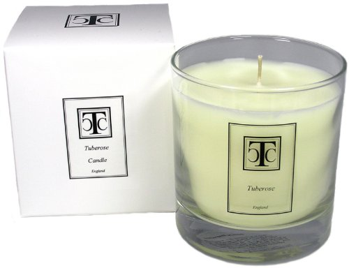 The Candle Company Ttc - Vela aromática de Incienso (40 Horas, Cera, 7 x 7 x 9,3 cm), Color Blanco