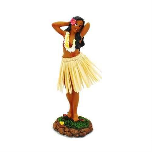 Figurita Decorativa para el salpicadero, diseño de Hawaiana