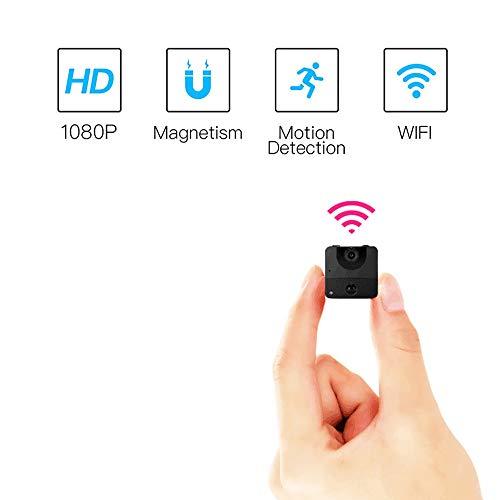 Dalun Cámara Espía, Cámara Oculta WiFi 1080P HD WiFi Cámara Espía, Pequeñas Cámaras Inalámbricas De Vigilancia De Seguridad Doméstica con Visión Nocturna, Detección De Movimiento