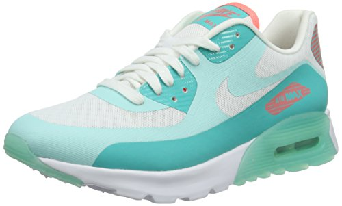 Nike Damen WMNS Air Max 90 Ultra Breathe Sneaker, Weiß (White), 37.5 EU