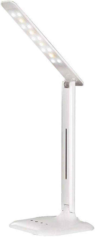 LED-Augenschutz Lesetischlampe, 3 Farbtemperatureinstellung Klappbüro Schlafzimmer Tischlampe B07MY1BG4T  | Genialität