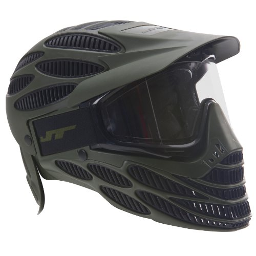 JT Spectra Flex8 Full Coverage Maske, Farbe:Olive
