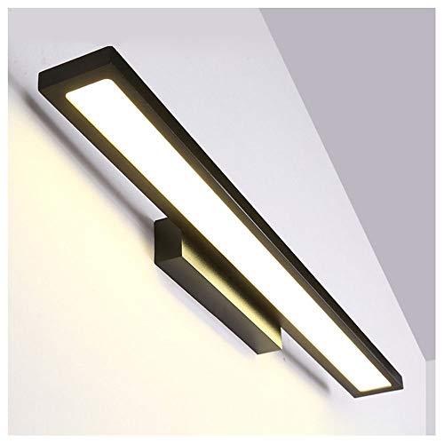 SHIEM Spiegelleuchte 30cm, 60cm IP44 wasserdichte Badlampe Badzimmer und Spiegellampen, Schrankleuchte, 3200K Warmweißes Licht, Schrank-Beleuchtung, Klemmleuchte, Schrankleuchte