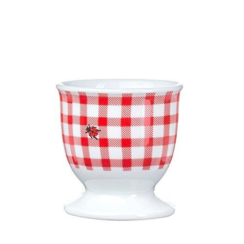 Feinkost Käfer Geschirr, Porzellan, Weiß/rot, 5.5 x 5.5 x 5.5 cm, 6-Einheiten