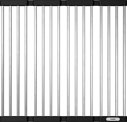 BLANCO Klappmatte als Abtropf für die Küchenspüle, faltbare Matte für das Waschbecken in der Küche, Breite 440 mm