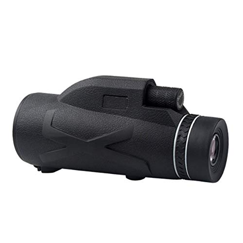 LMDZSW Monocular de visión Nocturna 80x100 Telescopio Potente Zoom Monóculo de catalejo óptico Solo monocular