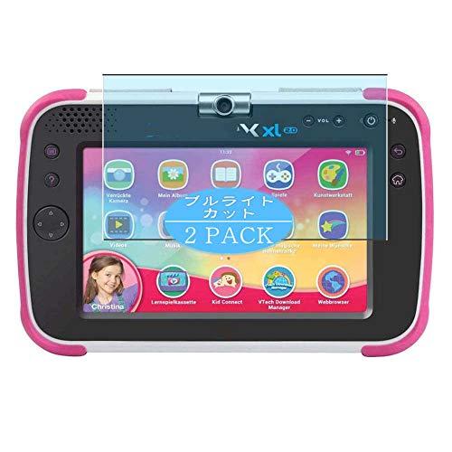 VacFun 2 Piezas Filtro Luz Azul Protector de Pantalla, compatible con VTech Storio MAX XL 2.0 Lerntablet Tablet 7', Screen Protector Película Protectora(Not Cristal Templado)