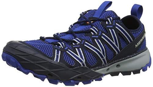 Merrell Choprock, Zapatillas Impermeables para Hombre, Azul (Navy), 46 EU