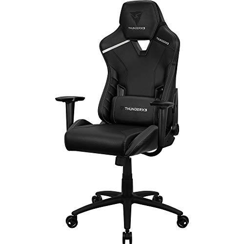 Thunderx3 Tc3 Cadeira Gamer Tc3 All Black, Preta