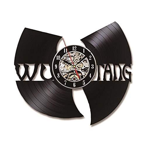 Disco de Vinilo Reloj de Pared Cambio de Color decoración del hogar Regalo LED,Hip Hop