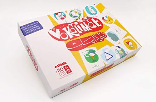 Vokalimat - Brettspiel des arabischen Wortschatzes - Lernen beim Spielen