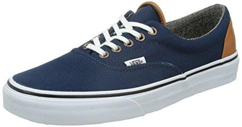 Vans U Era 59 Plaid Sneakers, Unisex Adulto, Blu (dress blu F7V), 40