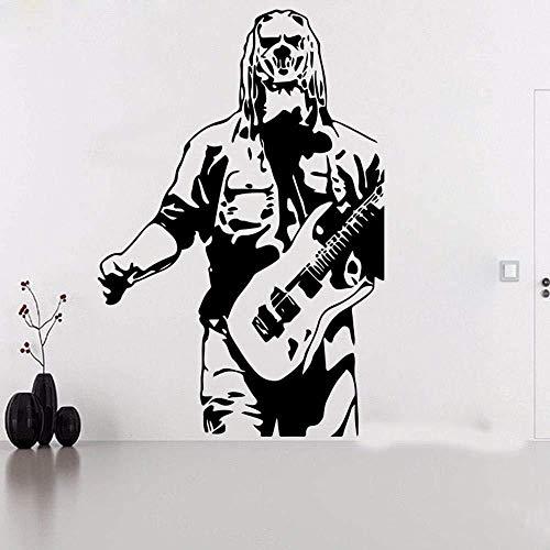 WYLD Muursticker Muursticker Grote Taylor Slipknot gitaar muursticker kinderkamer slaapkamer muziek Super Star muur sticker Vinyl Home Decor