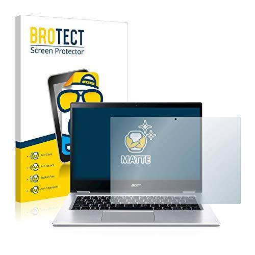BROTECT Entspiegelungs-Schutzfolie kompatibel mit Acer Spin 3 SP314-54N Bildschirmschutz-Folie Matt, Anti-Reflex, Anti-Fingerprint