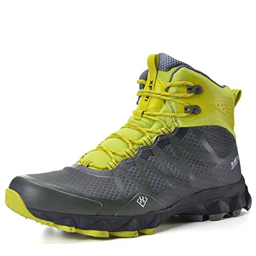 XPETI Men's FASTRAIL Mid Waterproof Lightweight Ankle Hiking Boot