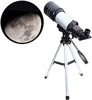 Jukkre 90X High Power Refractor Monocular Astronomical Telescope for Kids with Portable Tripod Monocular Telescope