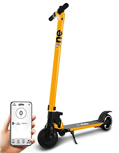 the one Yellow - Patinete eléctrico 350 W 36 V SpilloPRO Adulto,...