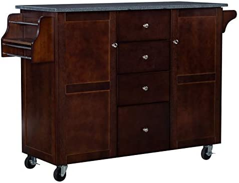 Linon Tori Wood New product type We OFFer at cheap prices Kitchen in Cart Espresso