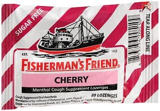 Fisherman's All items in the store Friend Menthol Large discharge sale Cough Suppressant Lozenges Cherry Sug