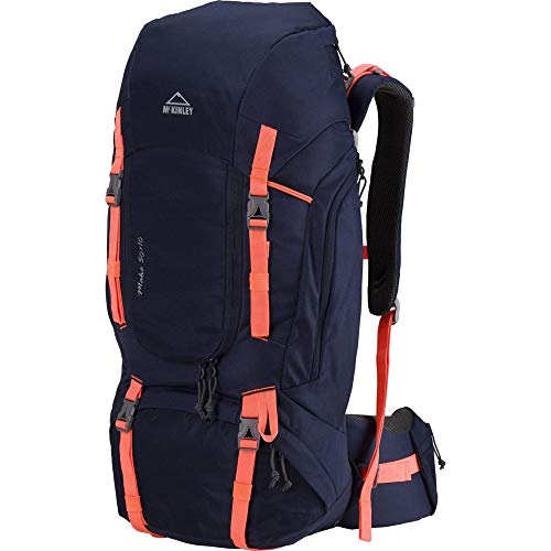 McKINLEY Damen Trek-Rucksack Make 50 + 10 W, Navy/Peach