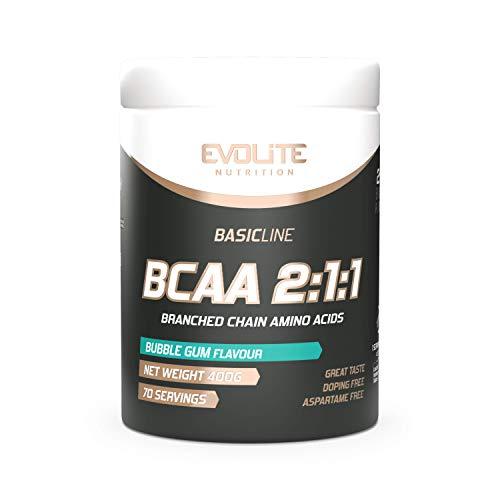 Evolite Nutrition BCAA 2:1:1 400 g - Bubble Gum