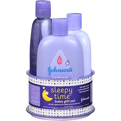 Johnsons Sleepy Time Baby Gift Set, 3 Items
