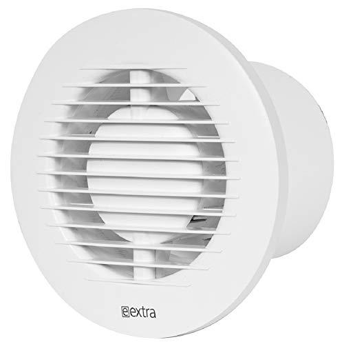 100mm Standard-Abluftventilator mit Kugellager für Bad und Küche mit niedrigem Energieverbrauch, leiser Betrieb EA100