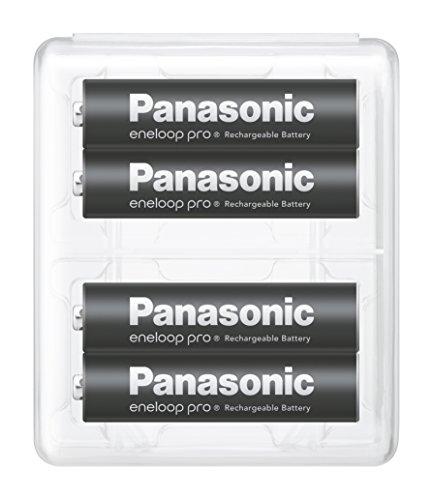【Amazon.co.jp限定】パナソニック エネループ 単4形充電池 4本パック 大容量モデル eneloop pro BK-4HCD/4SA