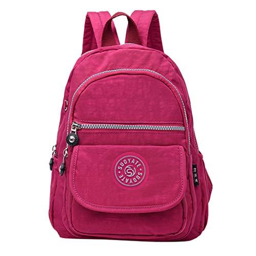 KaloryWee Frauen Männer Mode Große Kapazität Rucksack Nylon Wasserdichte Reisetaschen Schultasche Einfarbige Tarnung Student Junge Mädchen Schulranzen Daypacks Rucksäcke