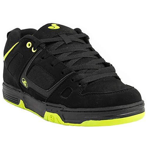 DVS Scarpe Gambol White Black Lime Nubuck Skate Hip Hop