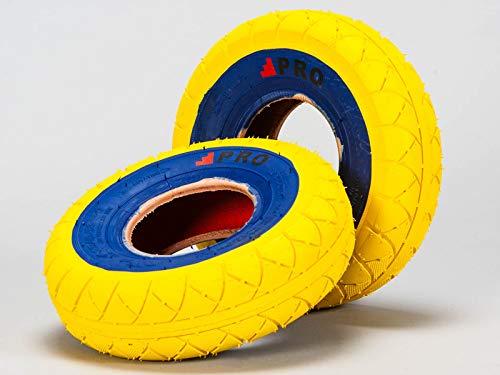 Rocker BMX Street Pro Neumáticos – Amarillo/Bluewall con tubos gratis