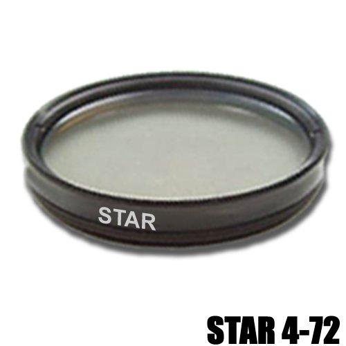 DynaSun Pro 72mm Cross Gitter Stern Filter Effektlinse 4-Fach Star mit Schutzhülle für Gewinde