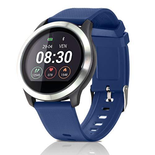 ZOTRAK Z3 Smartwatch Fit Android e iOS,Fashion Smart Watch,IP68,monitoraggio del Battito Cardiaco,Activity Tracking,ECG+PPG,Pressione Sanguigna,Bluetooth Smart Watch 12-15 Giorni Durata Batteria