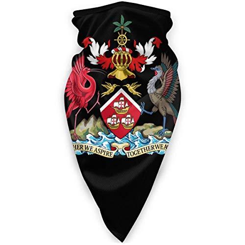WlQshop emblème National de trinité-et-Tobago Cache-Cou Plus Chaud Coupe-Vent Couverture du Visage écharpe Couverture de Sports de Plein air