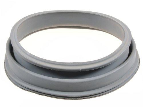 Deurmanchet, lichtgrijs, elastisch, laugebestendig, voor wasmachines van de merken AEG, ZANUSSI (3790201507)