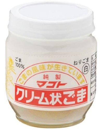 マコト クリーム状ごま 白 瓶180g