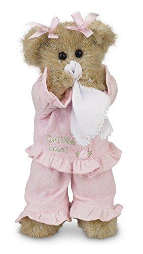 Bearington Sicky Vicky Get Well Soon Stuffed Animal Teddy Bear, 10'